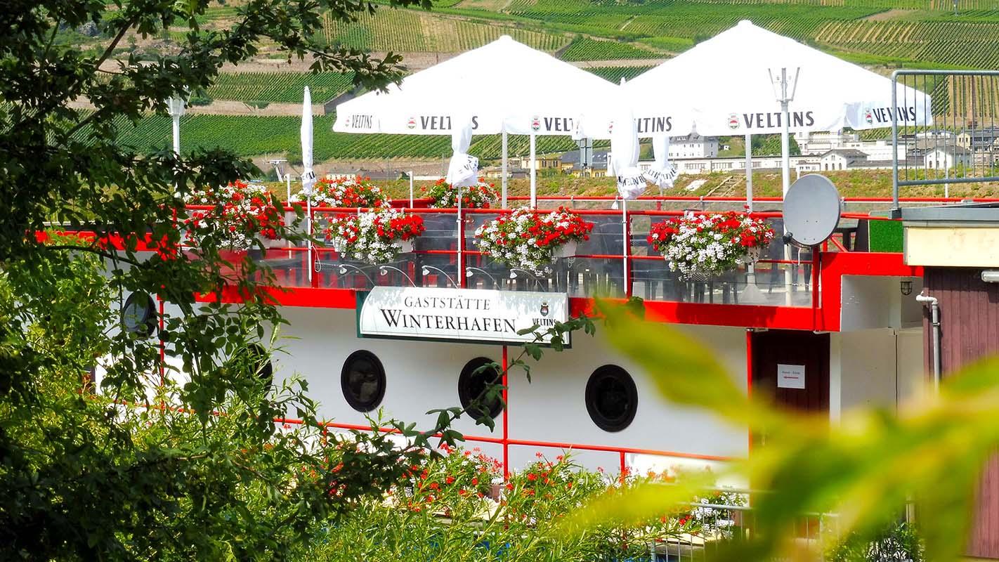 Eingangsbereich Schiffs- & Ausflugsrestaurant Winterhafen